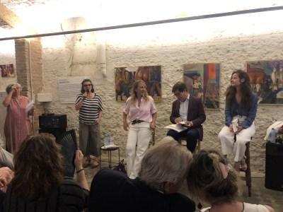 Así fue la presentación de mi ex jefa, Joana Bonet | Su último libro en Las cosas de Martínez