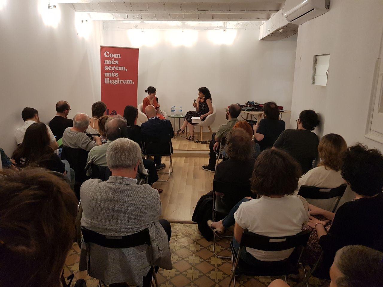 Inauguració de La Tribu, nova llibreria al barri de Sant Andreu