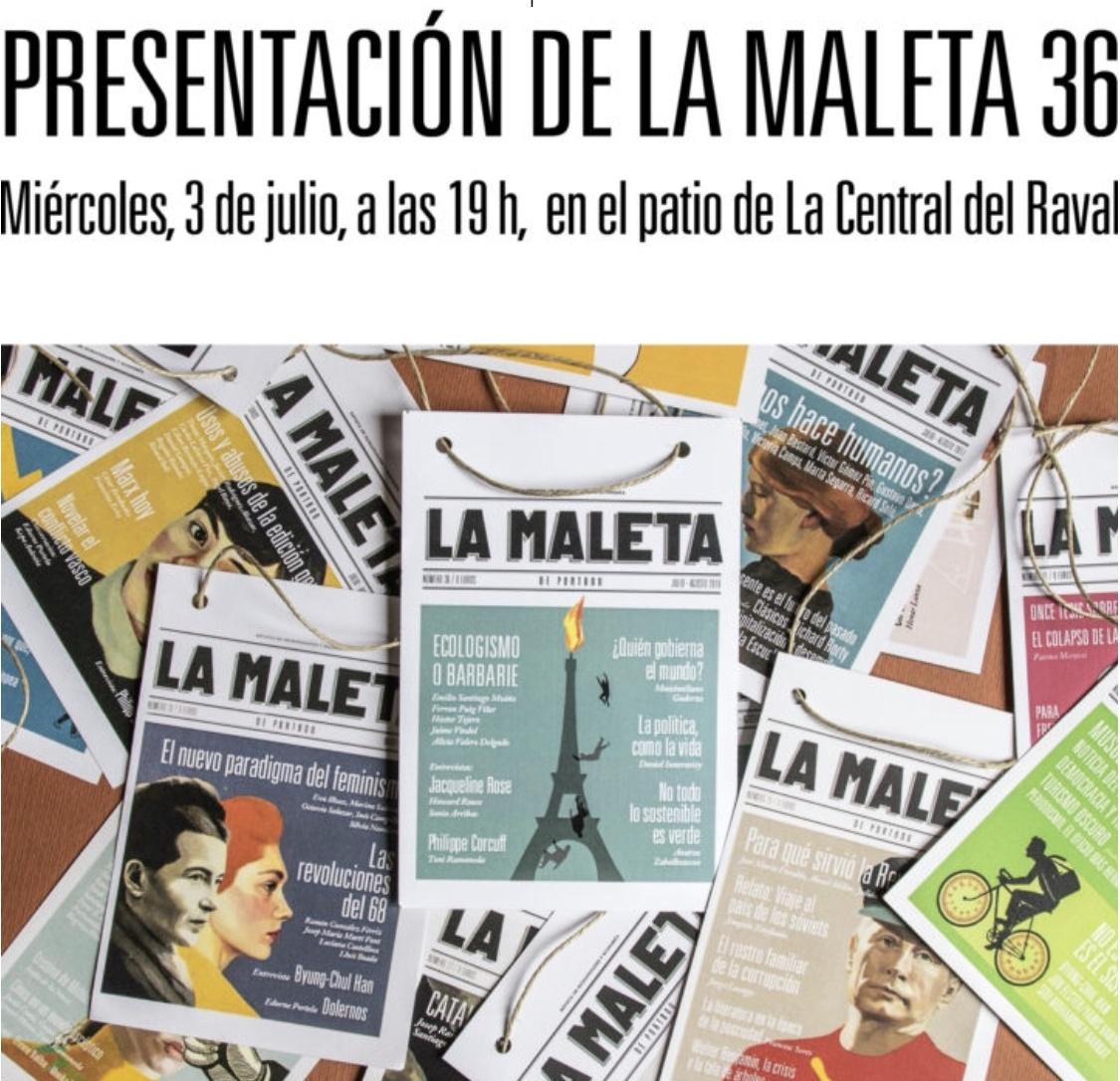 Fiesta de La Maleta de Portbou julio 2019
