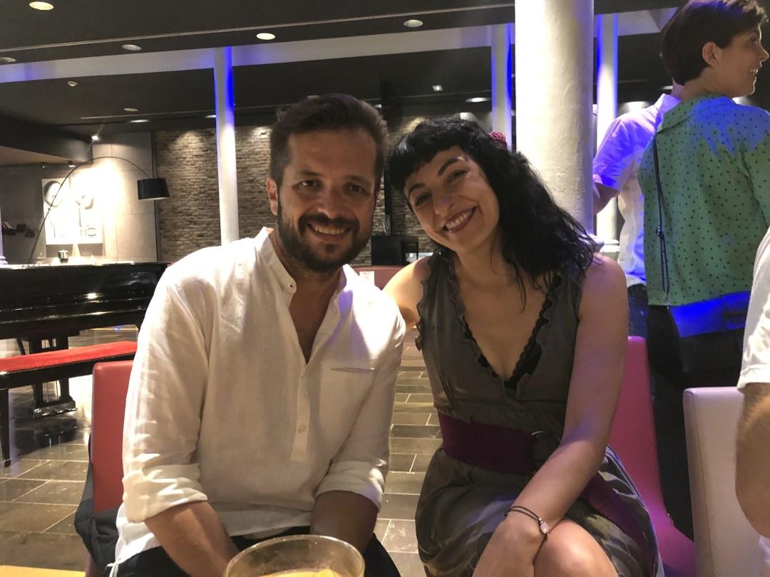 Compartimos reunión al piano con Gaby Goldman, una muy buena idea de Samanta Villar