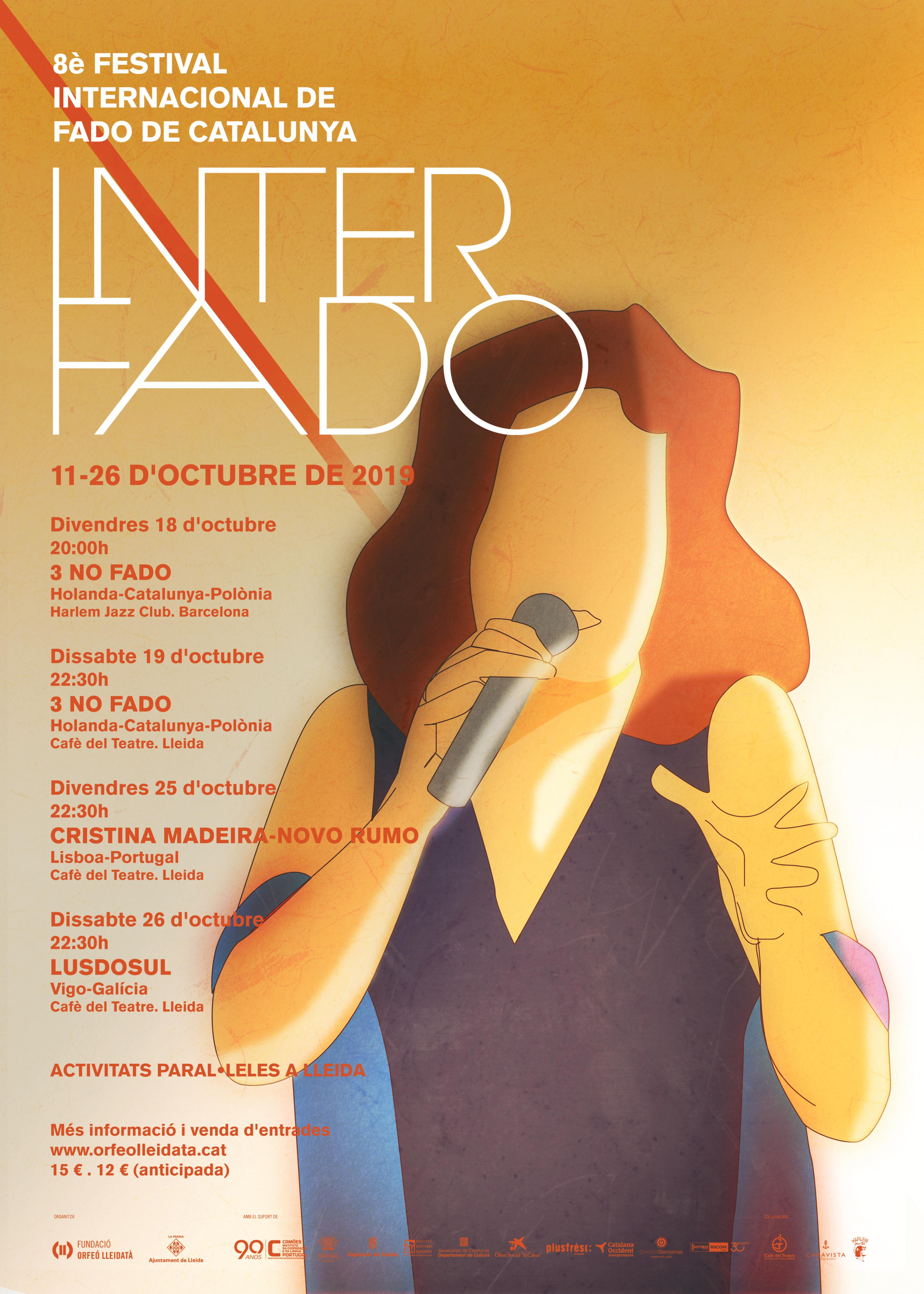 Inauguració de Festival Interfado/ Festival Internacional de Fado de Catalunya