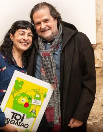 Recibo un premio TOI, es un gran honor. Gracias Jordi Català