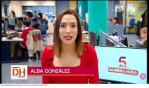 Alba González Romero, presentadora de televisió autonòmica balear IB3 i corresponsal de La Sexta