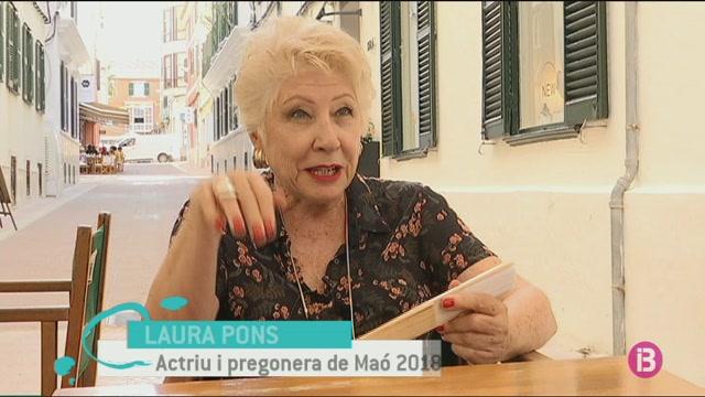 Laura Pons, actriu (Menorca)