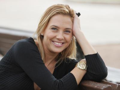 Victòria Maldi, presentadora televisió autonòmica balear IB3 i productora (Alacant-Mallorca)
