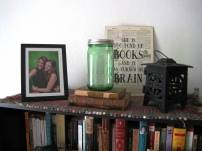Bookshelf decor!