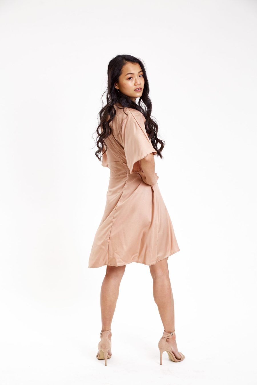 Butterfly maple dress outfit back