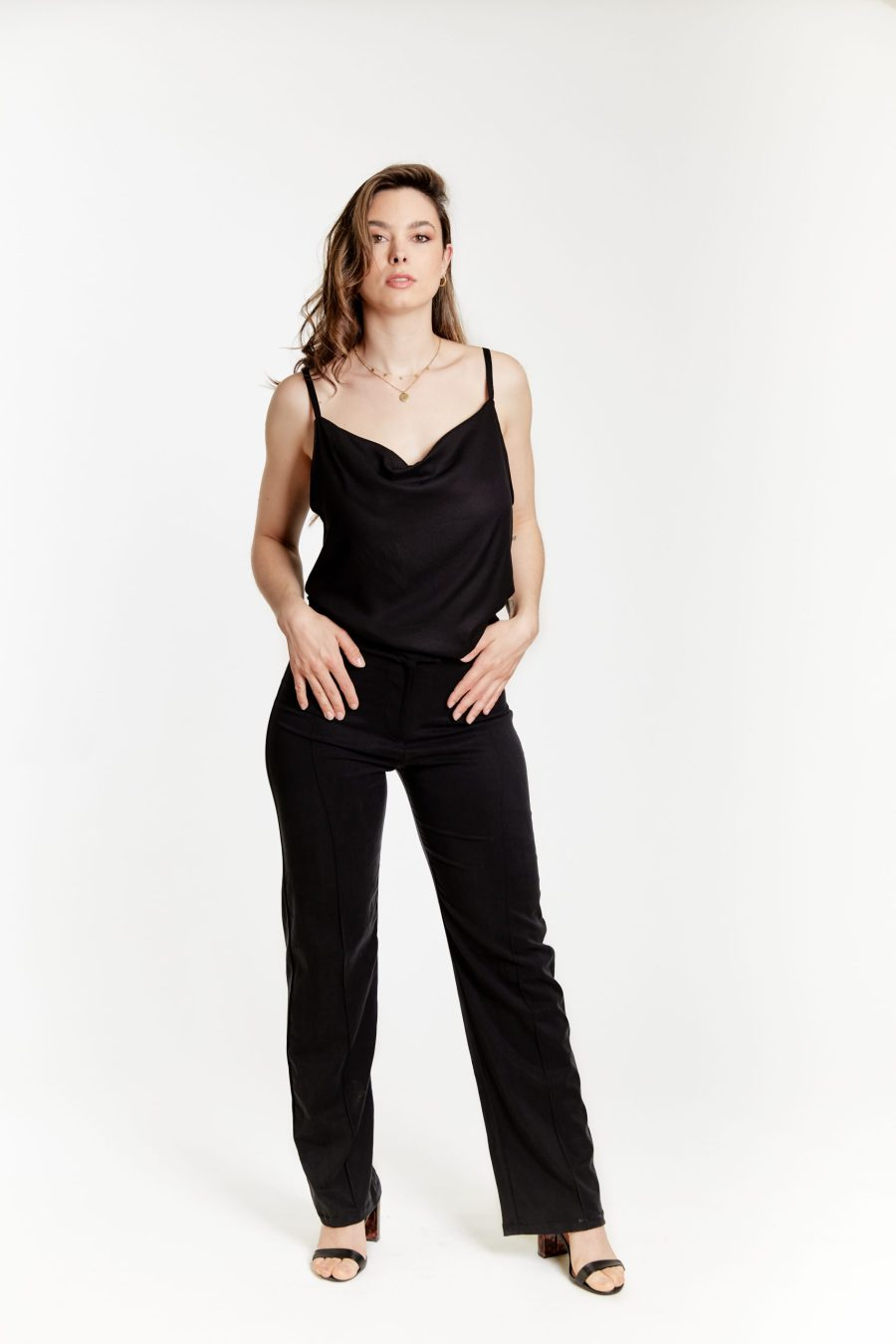 Daylight top black outfit
