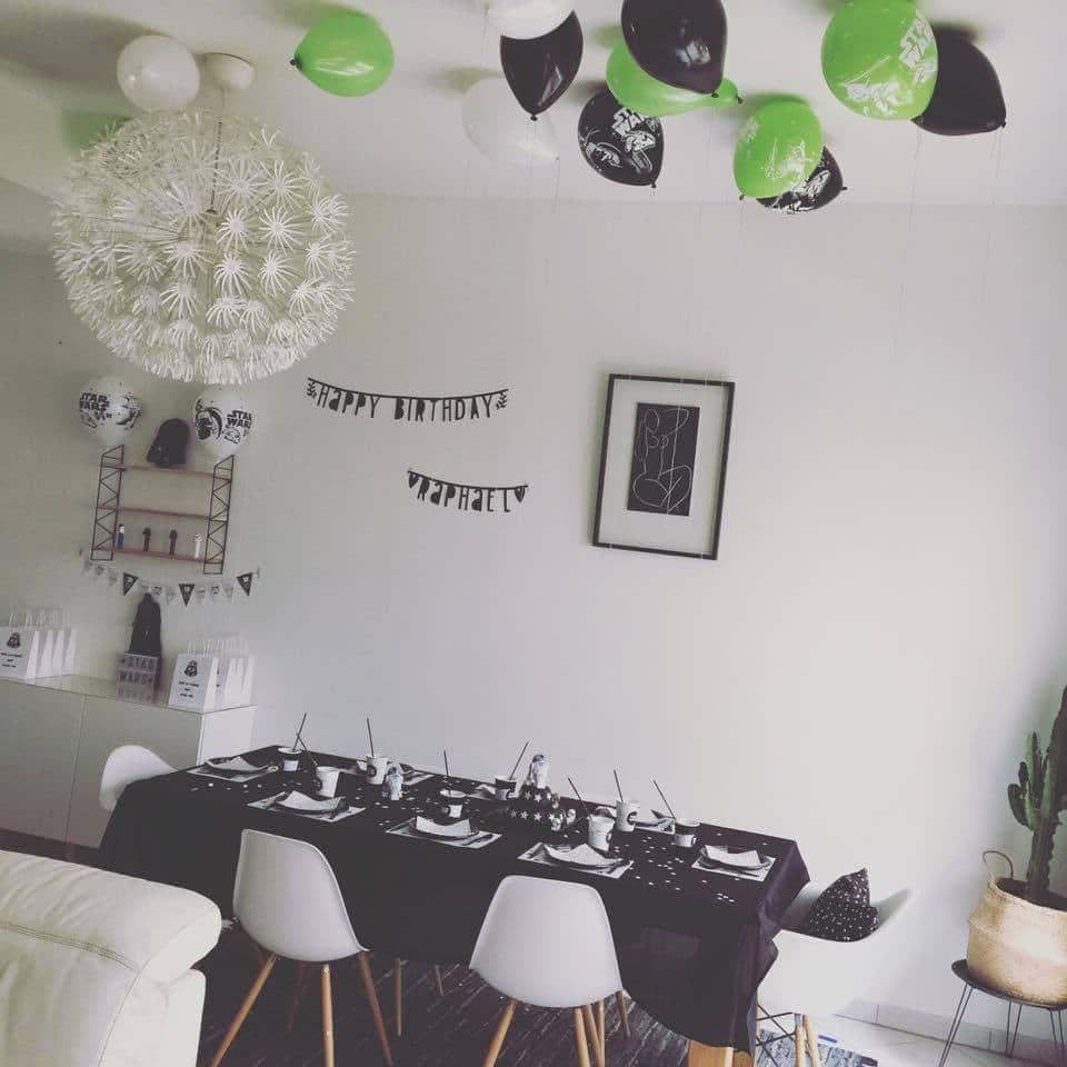 une f te d 39 anniversaire star wars. Black Bedroom Furniture Sets. Home Design Ideas