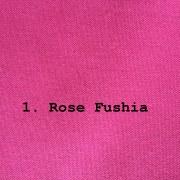 tissu coton épais fushia