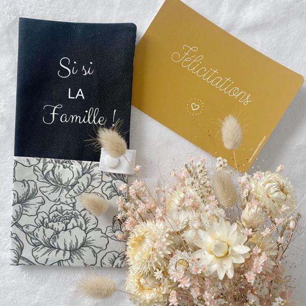 protège livret de famille personnalisable cadeau mariage
