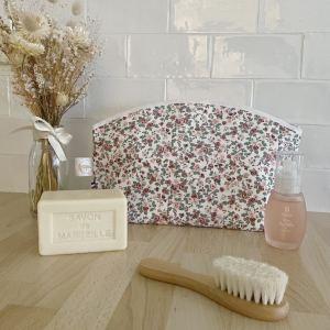 maxi trousse toilette poppy flowers cadeau naissance