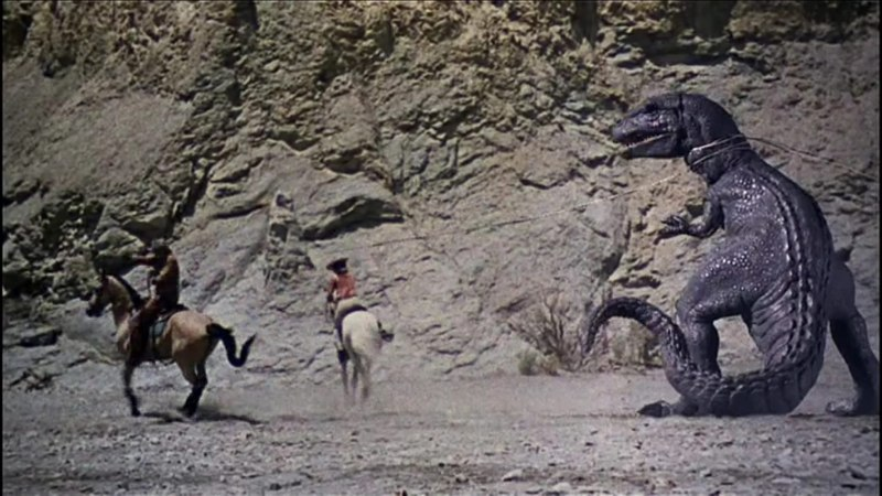 The Valley of Gwangi  movie review