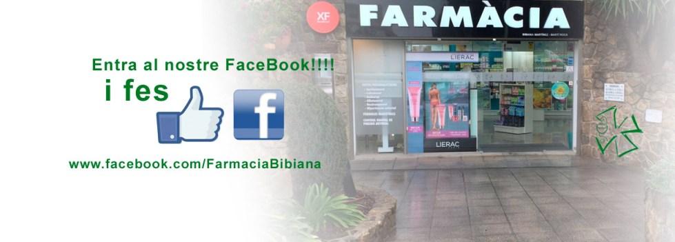 Facebook de farmacia Bibiana