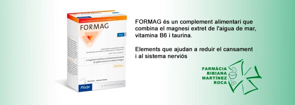 FORMAG, a la farmàcia Bibiana de Roses, Girona