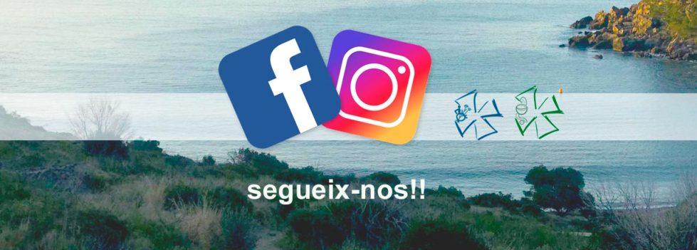 Segueix-nos al Facebook i a l'Instagram de farmàcia Bibiana Martínez a Roses i de Ortopèdia Martínez Roca