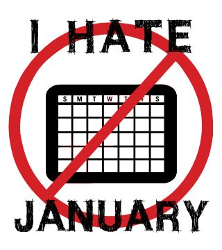 Image result for i hate january