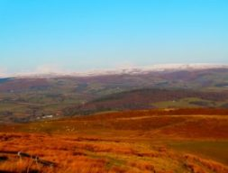 the amazing glacial valley that is the Abergwesyn Pass, in autumn