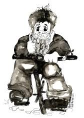 this Real Ale wobbler is artwork by Julia Harris