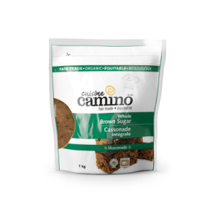 Fairtrade brown sugar (muscovado) by Camino available on Rosette Fair Trade's online store