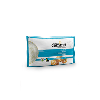 Fairtrade coconut (shredded) by Camino available on Rosette Fair Trade's online store
