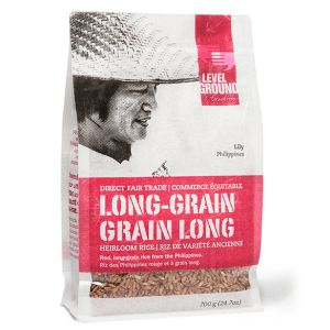 Level Ground rice (long grain) is available on the Rosette Fair Trade online store