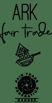 Ark Imports logo on Rosette Fair Trade