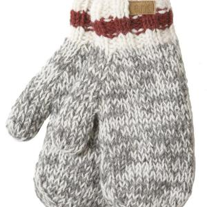 Fair trade mittens (Cabin) from Ark Imports in grey colour on Rosette Fair Trade
