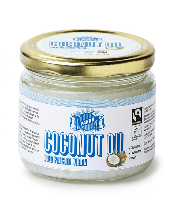Fair trade coconut oil from Pakka on Rosette Fair Trade