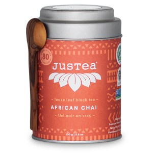 African Chai loose leaf tea by JusTea on Rosette Fair Trade online store