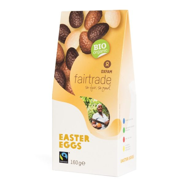 Filled chocolate Easter eggs from Oxfam Fair Trade (organic) on Rosette Network online store