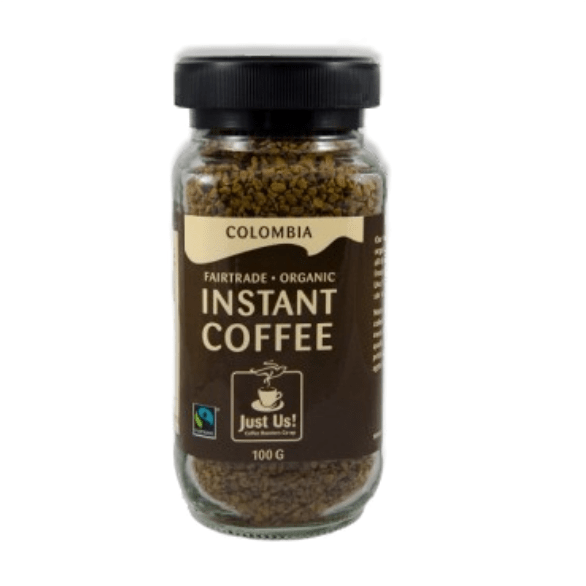 Fair trade instant coffee by Just Us! Coffee Roasters on Rosette Fair Trade