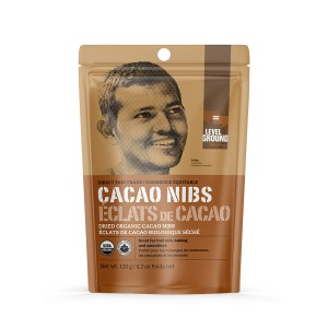 Level Ground cacao nibs (direct fair trade, organic) on the Rosette Network