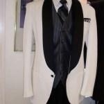 One button Shawl Tux coat