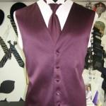Purple Vest and Tie