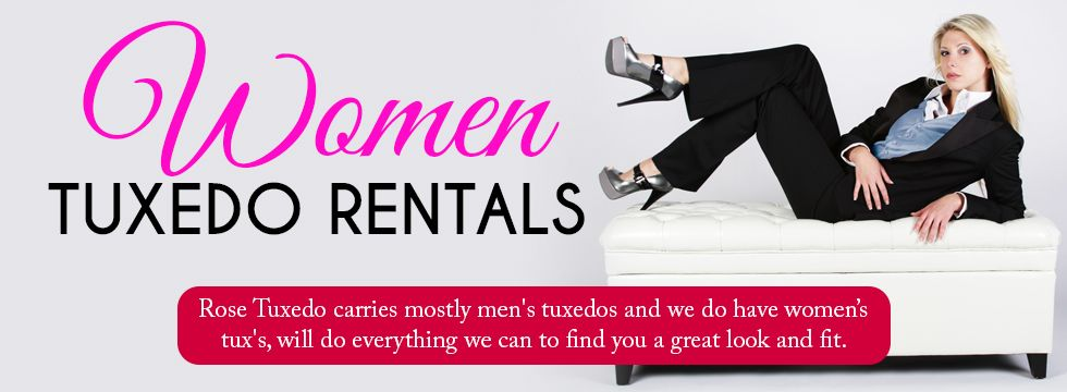 women tuxedos