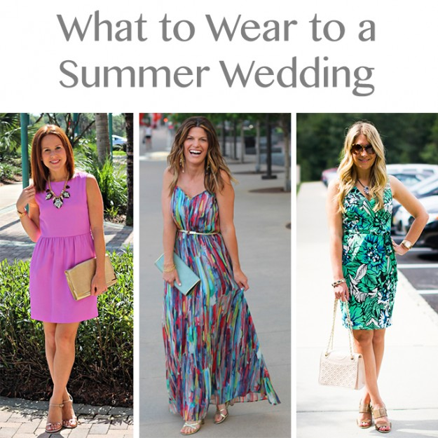 Summer wedding attire for ladies!