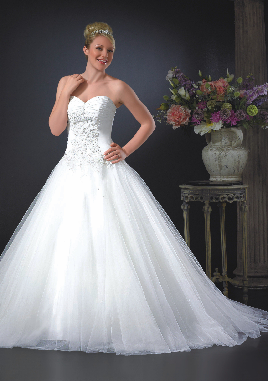 Phoenix Wedding Gowns- Rose Tuxedo