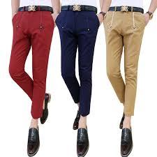 slim fit tux pants