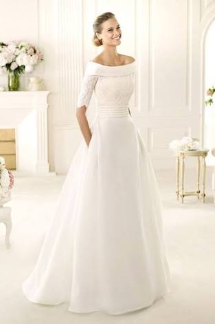 Wedding dress for December weddings