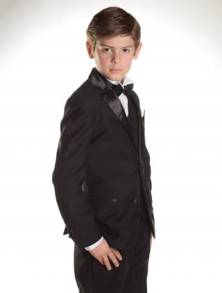 Young gentleman looking daper in a tux