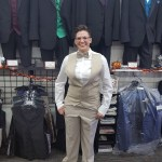 female tuxedo