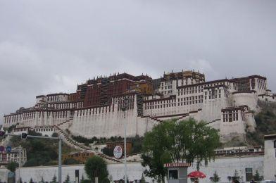 Lhasa en el Tibet.