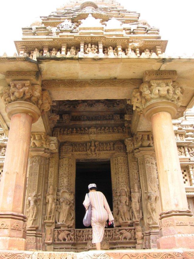 Khajuraho en la India