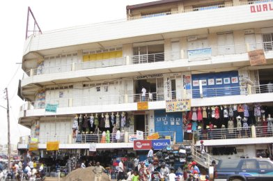 Kampala en Uganda.