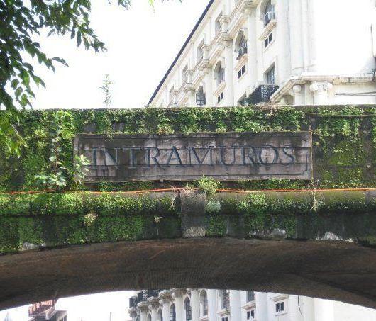 Barrio de Intramuros, Manila.