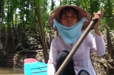Remontando el Mekong.