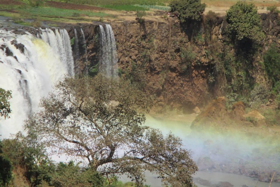 Las Cataratas del Nilo Azul. Etiopía.