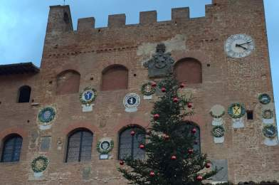 Toscana, aniversario de boda.