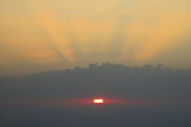 Lalibela, puesta de sol